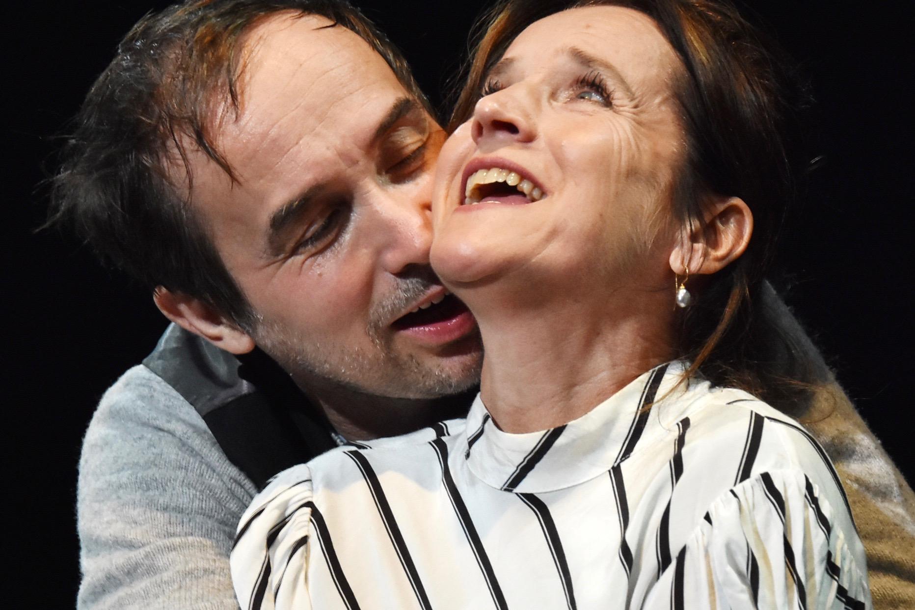 Catherine Stoyan und Pascal Lalo (Foto: Uwe Wolf / Theater am Rand)