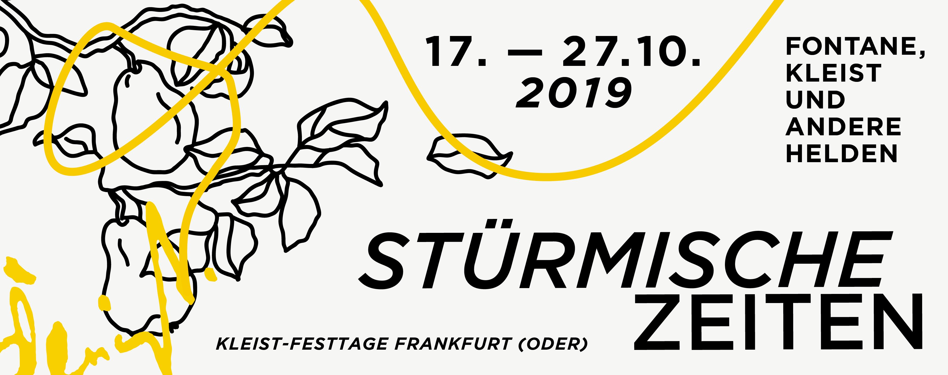 Kleist-Festtage 2019